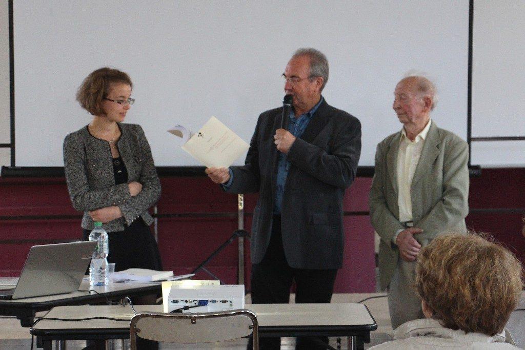 Guéret Villedo septembre 2015 Viviane Fritz et Georges DelangleW