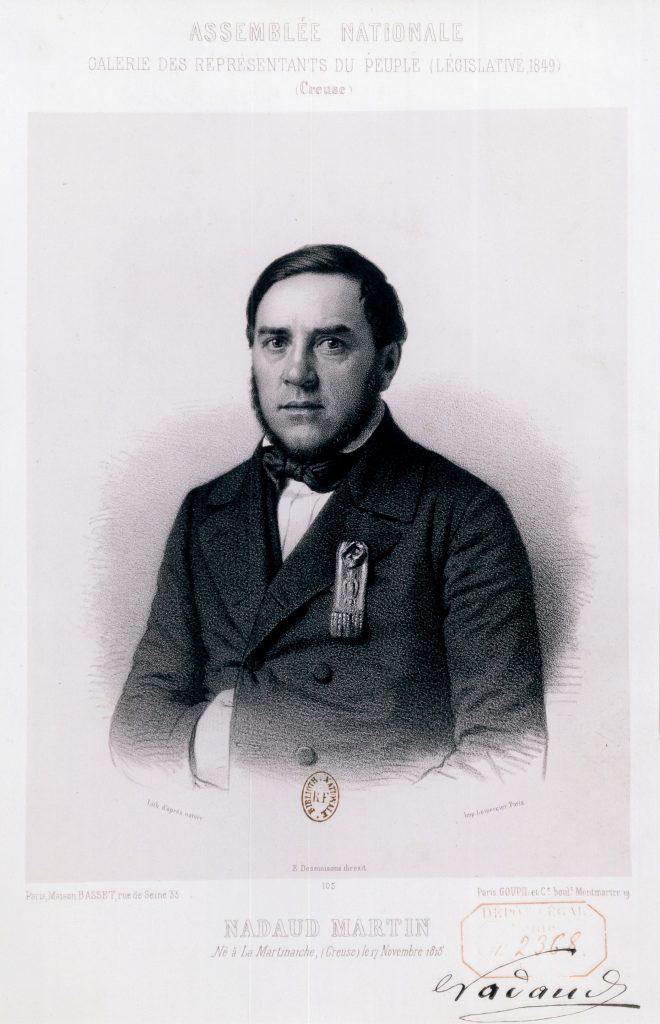 11 - Nadaud représentant du peuple 1849