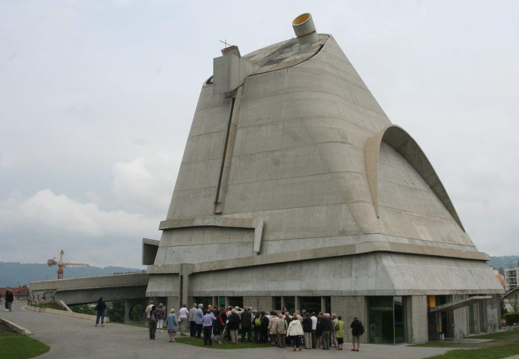 11 - Firminy Eglise Le Corbusier
